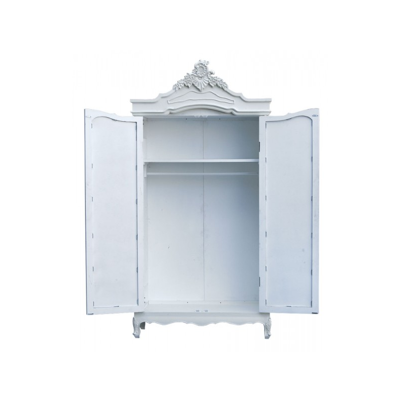 armoire wardrobe white