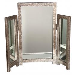 Mirror Moc Croc Silver Dressing Table Mirror