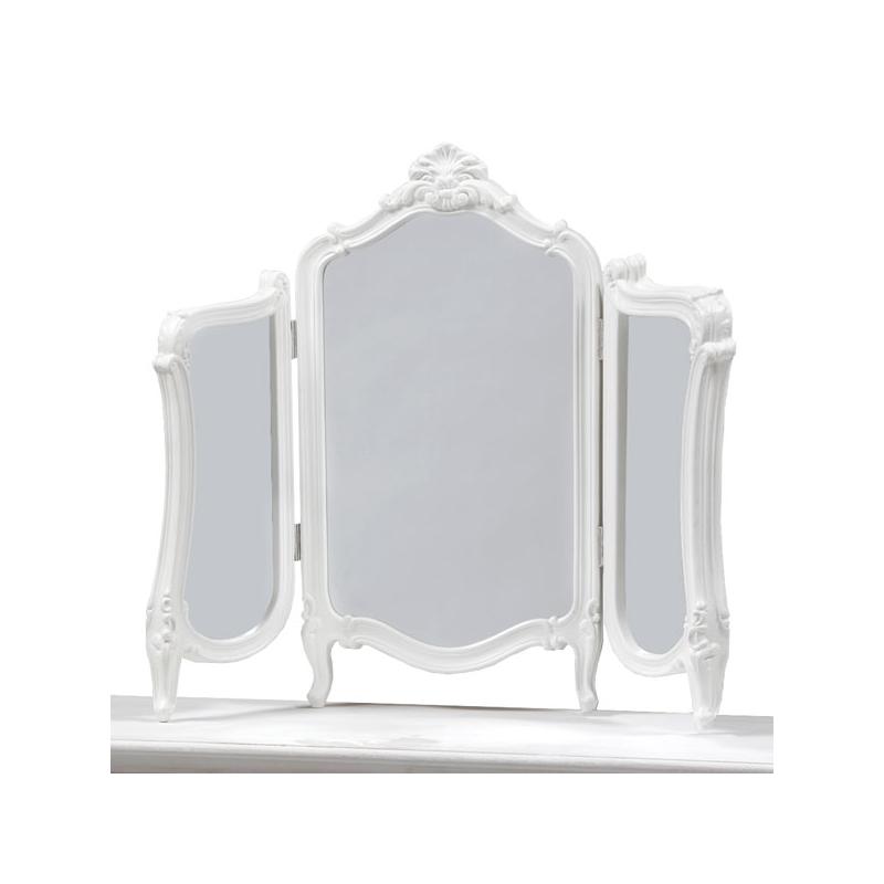 White regency dressing table mirror - White mirror for dressing table ...