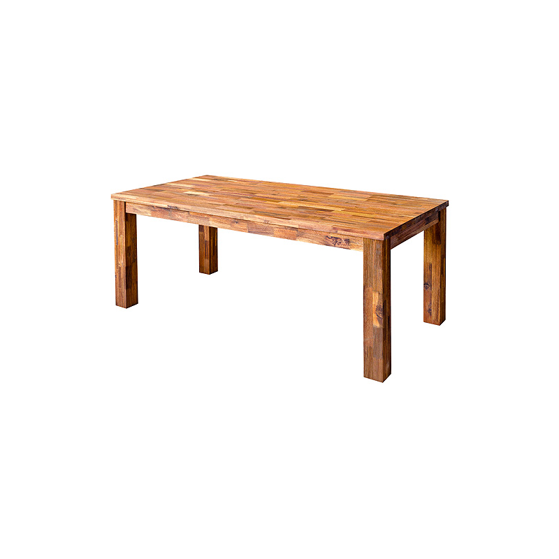 DINING FURNITURE Acacia Wooden Dining Table