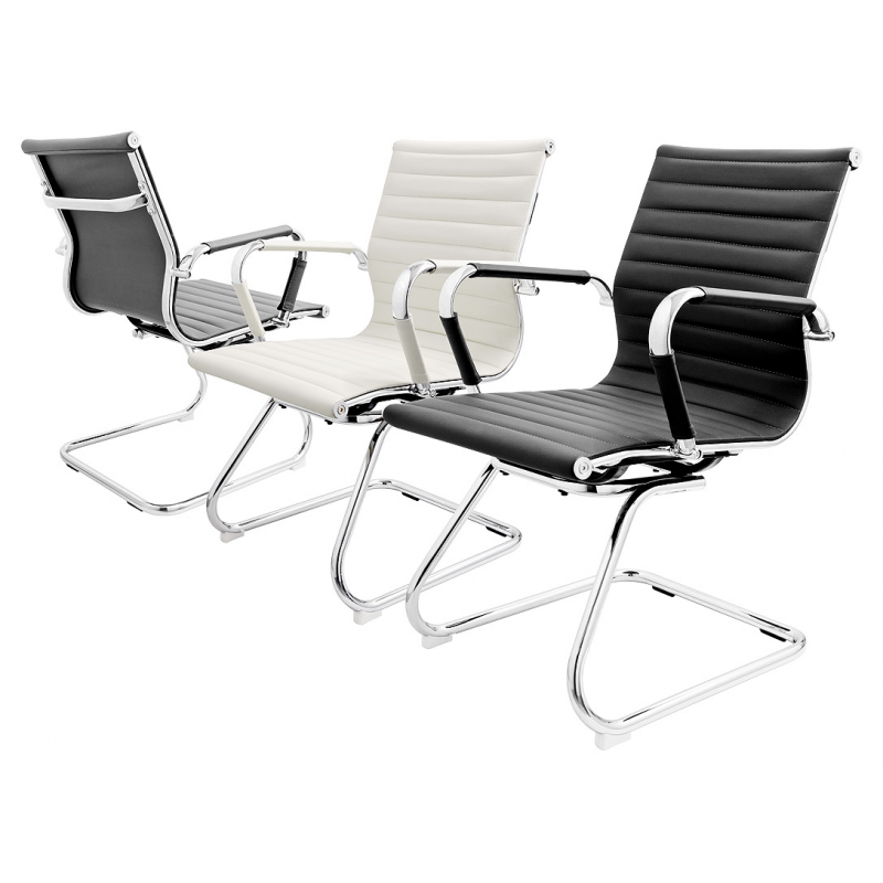 furniture seating sofas eames style chrome dining chair