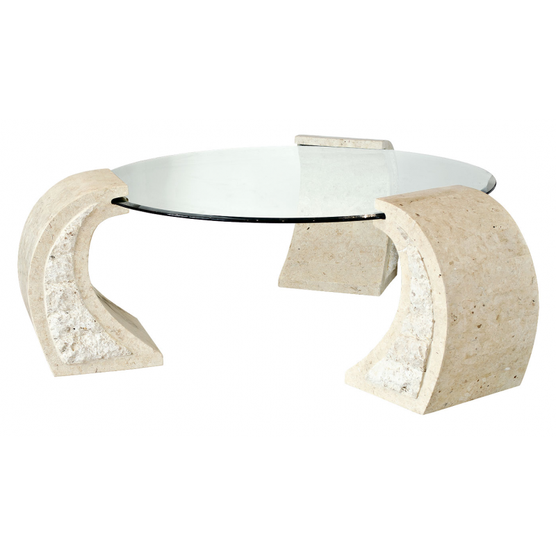 Poseidon mactan stone coffee table Stone coffee table