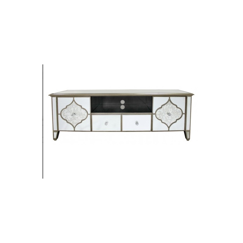Morocco Mirror Entertainment Unit Tv Stand