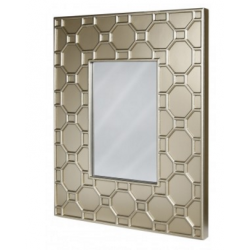 Gold Geo Wall Mirror