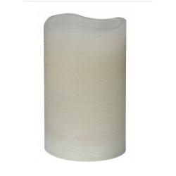 LED Slim Cream Church Style Candle