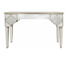 Morocco Mirror Console Dressing Table With Drawers