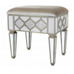 Morocco Mirror Dressing Table Stool