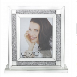 Milano Mirror Picture Photo Frame 5 x 7 Inch