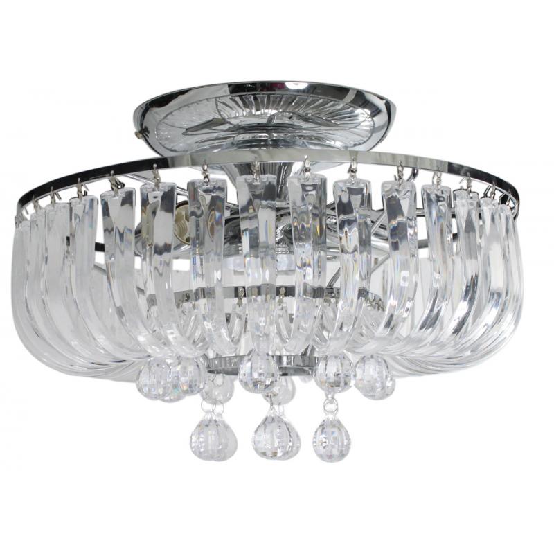 Eva 3 Lamp Electric Round Pendant Ceiling Light