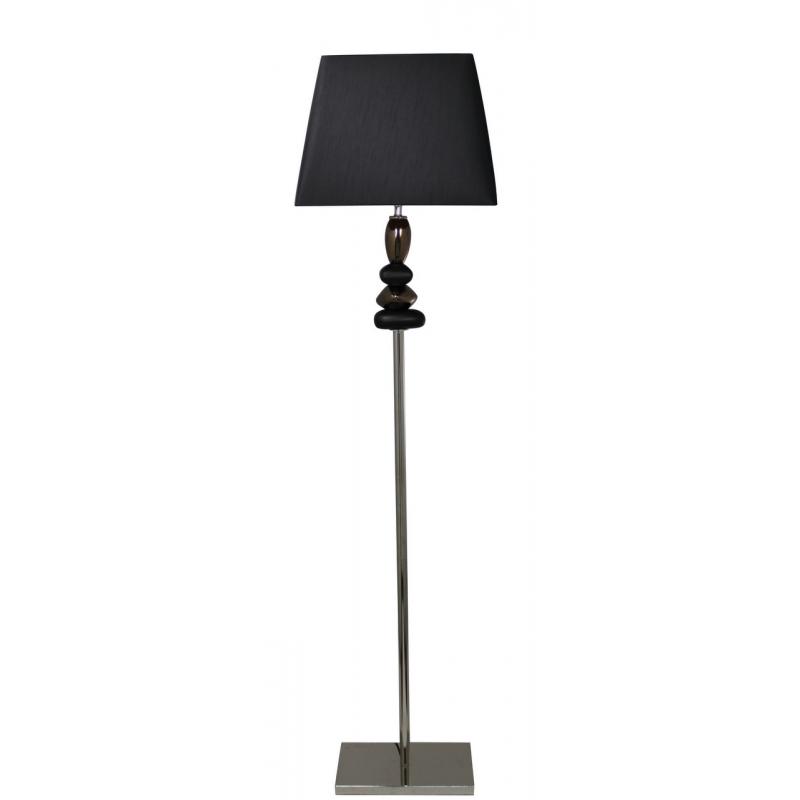 lighting floor lamps black and gold pebble floor lamp with black. Black Bedroom Furniture Sets. Home Design Ideas