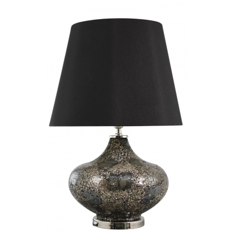 black and gold mosaic ellipse table lamp forever. Black Bedroom Furniture Sets. Home Design Ideas
