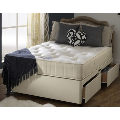 orthopaedic divan bed and mattress set forever furnishings fine home and garden furnishings. Black Bedroom Furniture Sets. Home Design Ideas