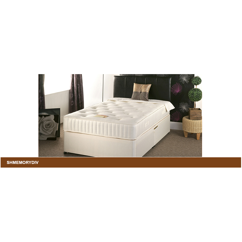 Divan Bed With Memory Orthopaedic Mattress Various Sizes Forever Furnishings Fine Home