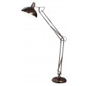 Shiny Copper Extra Large Floor Lamp