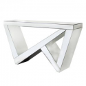 Mirror 'Z' Frame Console Table