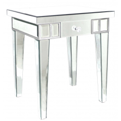 Mirror Lamp Side Table