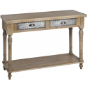 Artisan Twin Drawer Console Table