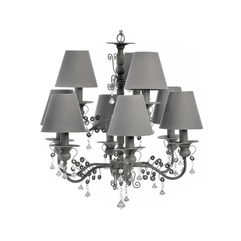 holder wholesale foyer with shades villa from candle lamps crystal cande in chandelier hanging for lampshades vintage led lights hotel chandeliers item fabric project