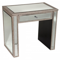 Mirror Moc Croc Desk Dressing Table