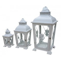 Set of 3 Rustic Lanterns