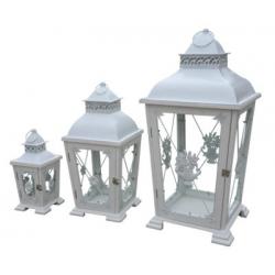 Set of 3 Rustic Lanterns