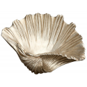 XL Silver Leaf Guild Shell Ornament