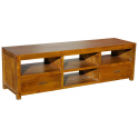 Chunky Wooden Entertainment Unit TV Stand