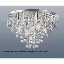 Saskia Clear 5 Light Pendant