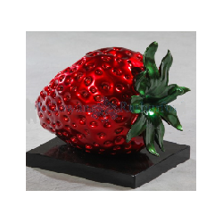 Red Stawberry Table Decor