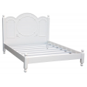 Hambledon Victorian Calm White King Size Bed
