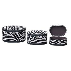 Zebra Print 3 Boxes