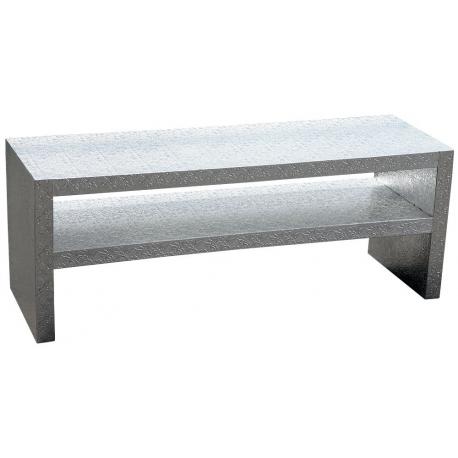 Chaandhi Kar Silver Embossed Table Unit
