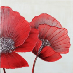 Red Poppies Canvas CP131