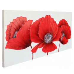 Red Poppies Large Canvas CP128