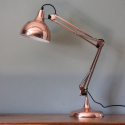 Vintage Copper Traditional Desk Lamp