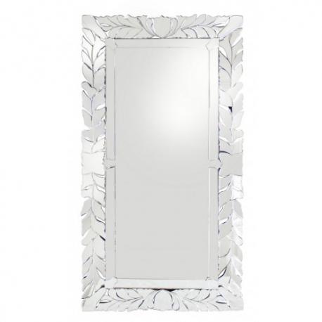 XL Oversized Venetian Leaf Floor Standing Mirror