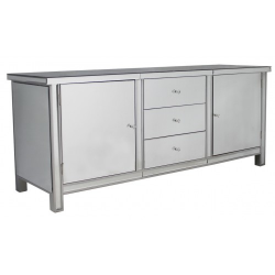 Classic Mirror Sideboard Cupboards and Drawers