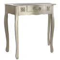 Champagne Wooden One Drawer Console / Dressing Table