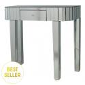 Classic Mirror Tile Edge Console Table