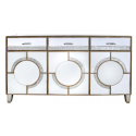 Leonardo Mirror Sideboard With 3 Doors