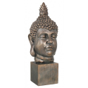 Gold / Bronze Buddha On Plinth Ornament