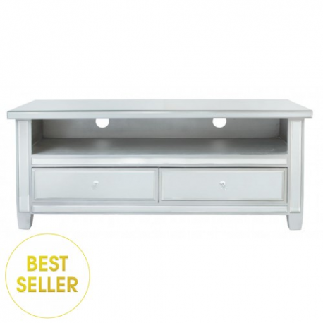 Classic Mirror TV Stand Entertainment Unit