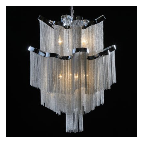 Medium Chrome Chan Chandelier Light
