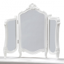 White Regency Dressing Table Mirror