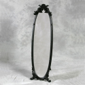 Black Dressing Mirror on Stand