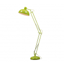 Lime Green Extra Large Classic Desk Style Floor Lamp (green/yellow Fabric Flex)