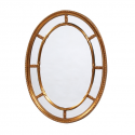 Gold Oval Multi Mirror