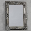 Antique Silver Small Regal Mirror