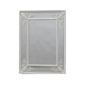 Antique White Square French Mirror