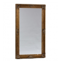Gold Rectangular Classic Mirror